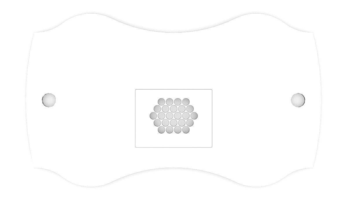Nageltisch table top FantasTisch Form 1 Standard for nail salons