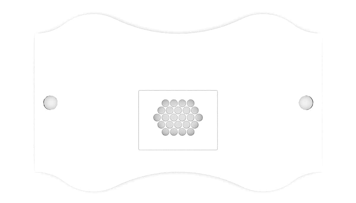 Nail table top Fantastic shape 2 for nail salons