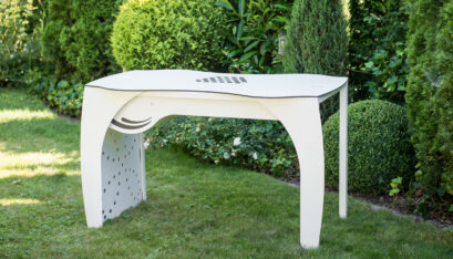 Table d'ongleries RomanTisch avec aspiration A400