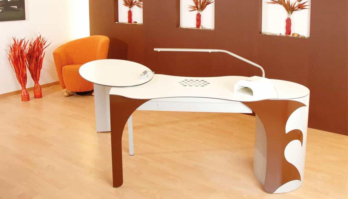 Nail table custom made for nail studios